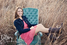 Senior Photo Poses..Girls / by Valerie Wicks