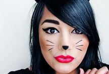halloween cat makeup
