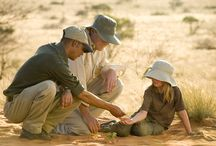 Children at Tswalu / Children love Tswalu, because the staff of Tswalu love children! There's even a special Junior Rangers programme to keep them occupied while mom and dad enjoy their safari.
