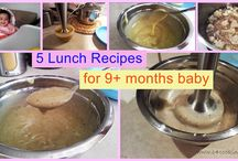 9+ months baby food recipes