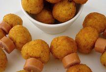 Polenta balls