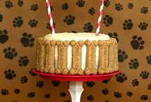 Doggie birthday cakes