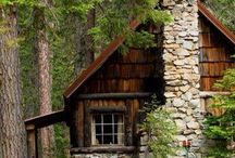 Log Cabins / Wonderful log cabins with their interiors and exteriors. Just enjoy.