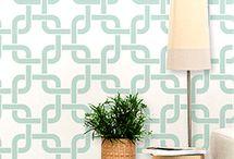 Wallpaper & Stencils / by Becky Brewer