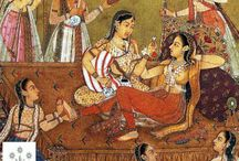 "Kama Sutra / The Kama Sutra is an ancient text written by Vātsyāyana.  ""Kāma"" means desire, and ""sūtra"" literally means a thread or line that holds things together, and more metaphorically refers to an aphorism (or line, rule, formula). Contrary to western popular perception, the Kama Sutra is not exclusively a sex manual; it presents itself as a guide to a virtuous and gracious living that discusses the nature of love, family life and other aspects pertaining to pleasure oriented faculties of human life."