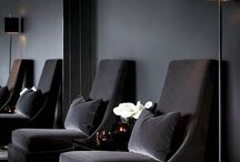 Black Interiors / Black Interior Design.