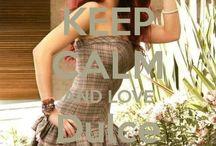<3 Keep calm: Dulce María <3 / Este tablero lo he creado para tener todos los Keep calms de Dulce María :)