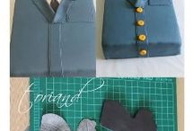 How to-clothes cake