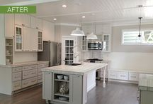 On-Trend Gray and White / by CliqStudios Cabinets