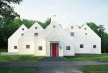 Mod White Farmhouse / Inspiration for our white farmhouse reno