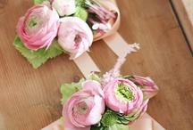 mariage / bracelet fleurie