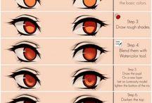 referência Olhos