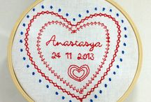 my embroidery creations