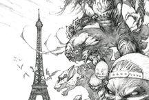 Comic Artist - Marc Silvestri