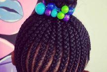 Girls braid styles