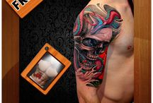 Tattoo Photo Editor / Tattoo Photo Editor is there for you. You don't need to put much effort, it'll do everything for you following your fingers' orders. Different tattoo designs you'll find there and you have to choose one of them to try on your selfie, can change the design if you don't like it.  Free download : https://play.google.com/store/apps/details?id=com.formationapps.tattoomaker