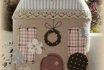 Maison en tissu