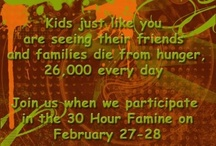 30 Hour Famine / by Christy Herr