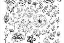 орнамент.растения