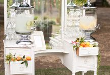 Weddings | Drinks & Desserts Tables