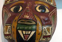 Afrikkalainen maski / Afrikkalainen maski,joka sopii täysin kasvoillesi.