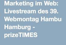 Webmontag Hamburg #wmhh / Am 25.4. hatten wir den Webmontag Hamburg bei uns zu Gast. / by prizeotel