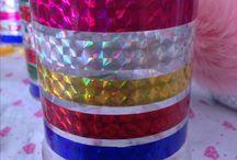 Déco recyclage pots avec washi tapes