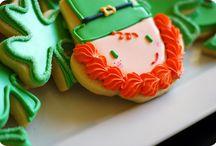 Sugar cookies/ St.. Patrick's Day