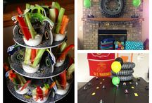 Luke's and Max's Birthday party and cake ideas.