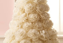 White affair -wedding cakes / There has to be that one AWESOME cake for The Wedding. Pick your choice :-)  / by Sarah Phang