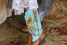 Vintage Boots Cowboy Boots