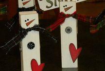Kunst og håndverk ideer - Jul
