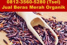 beras merah organik surabaya