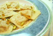 Pasta, Dough & Ravioli (HOMEMADE) / I am trying to find homemade Ravioli or Pasta recipes for using in my Pasta and Ravioli Maker Attachments for my Kitchen Aid!  / by Brenda Downey