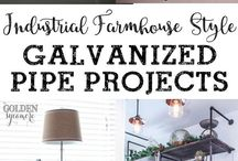 galvanised pipe projects