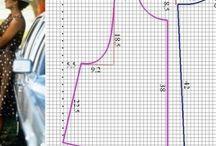 выкройки / готовые выкройки схемы с сайта http://angel-a-dress.ru