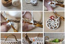 crochet con cuerda