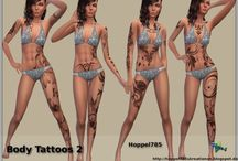 Sims 4 Piercing/Tatoo