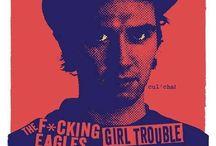 Chantry Art - Graphic design / Graphiste américain né en 1954. Pilier de l'esthétique grunge et légende du poster rock.