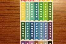 Flags / Current flag stickers available in our shop! http://plannerglitz.com/product-category/flags/