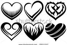 Hearts / Heart Ideas!! / by Kirstin Chavez