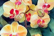 Art: Ann Mortimer, watercolorist