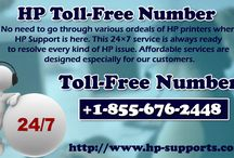 HP Toll-Free Number