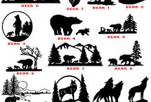 Designs of some wild animals