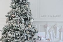 The Orchard: Christmas Tree Decorating Ideas: Shabby Chic Vintage