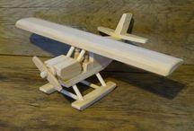 Trælegetøj - Fly