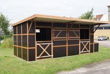 Fahrbare Weidehütte / Weidehütte Außenbox Fahrbare Mobile shack