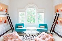 Rooms I Love / Interesting and creative ways to decorate a room