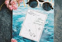 travel addicted -  Hochzeitsinspiration / Ein tolles Hochzeitsmotto für alle Reisebegeisterten. Das Thema lässt sich super kreativ umsetzen und bietet vile Gestaltungsmöglichkeiten.