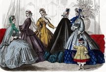 Fashion 1860-65 / Mid 19th Century Fashion Plates